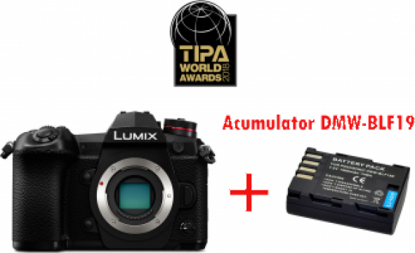 Camera foto Panasonic Lumix DC-G9 Mirrorless MFT (Body) de la West Buy SRL