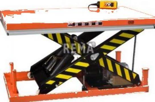 Mese de ridicare electrice stationare Rema de la Furitech Srl
