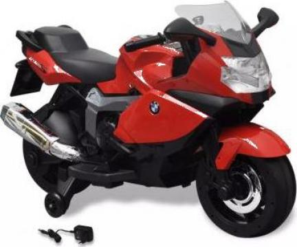 Jucarie motocicleta electrica pentru copii BMW 283, 6V, rosu de la Vidaxl