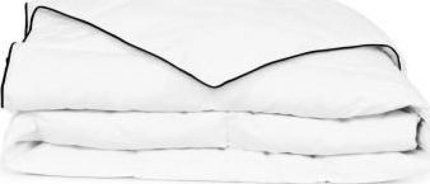 Pilota de iarna din puf, 140 x 200 cm de la Vidaxl