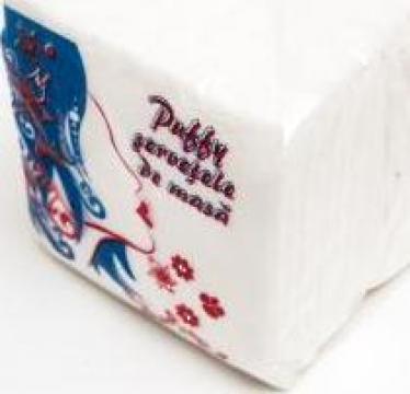 Servetele de hartie Puffy de la M & C Eco Paper Srl