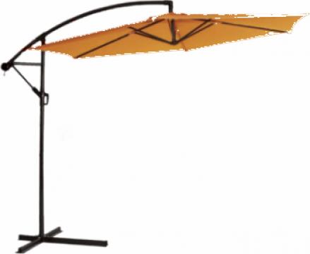 Umbrela soare suspendabila 300cm culoare orange de la Basarom Com
