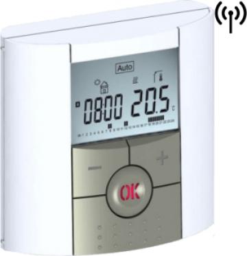 Termostat digital programabil de ambient, cu RF de la Sistema Comfort And Energy Saving