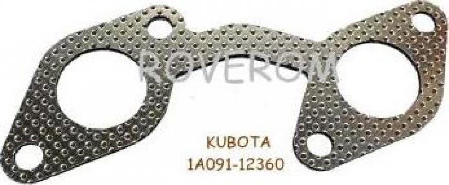 Garnitura galerie evacuare Kubota V2203, V2403, Hitachi de la Roverom Srl
