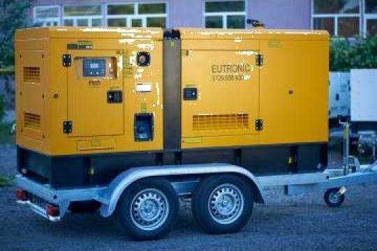 Inchiriere generatoare, inchiriere grupuri electrogen 56Kw de la Inchirieri Remorci Berceni