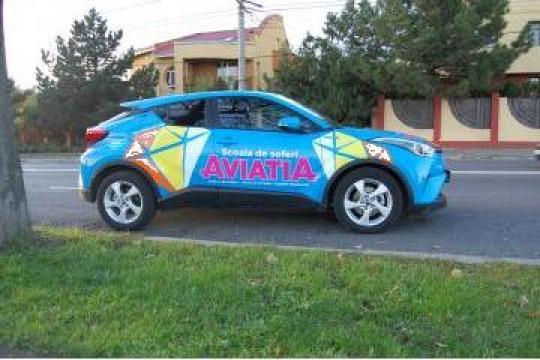 Curs scoala soferi categoria B- Toyota CHR Hybrid Automata de la Scoala De Soferi Aviatia