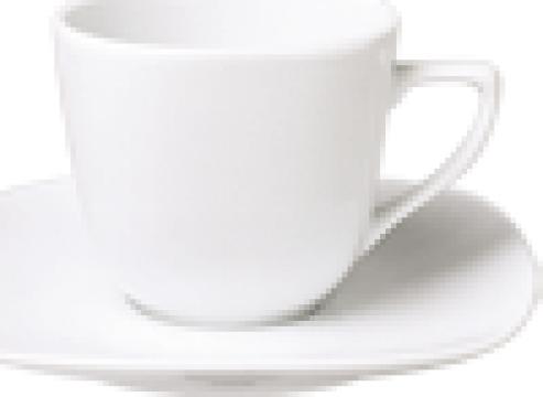 Ceasca pentru ceai din portelan 230cc colectia Mimoza de la Basarom Com