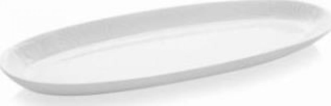 Platou oval portelan BL 50 KY de la Basarom Com