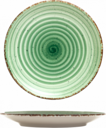 Farfurie desert Gural colectia Green 19cm de la Basarom Com