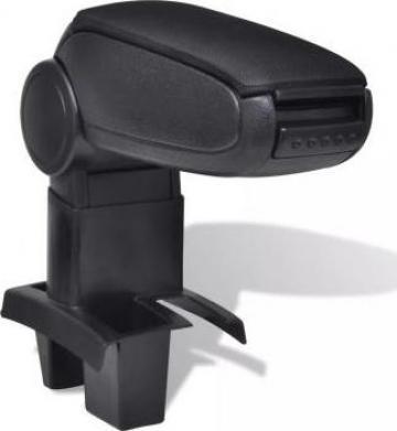 Cotiera masina neagra pentru Peugeot 307 (2004) de la Vidaxl