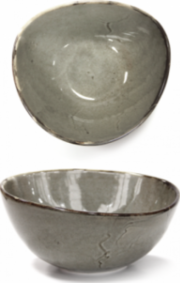 Ramekin portelan 9cm Antique Grey de la Basarom Com