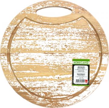 Platou rotund servire Raki din lemn 36cm de la Basarom Com