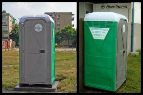 Toaleta ecologica cu circuit inchis Sebach de la SC Toalete Ecologice SRL