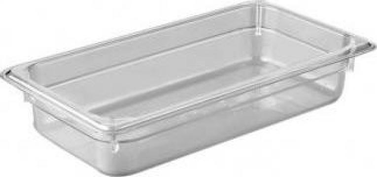 Tava gastronorm policarbonat 1/3-100 3,6litri transparent de la Basarom Com