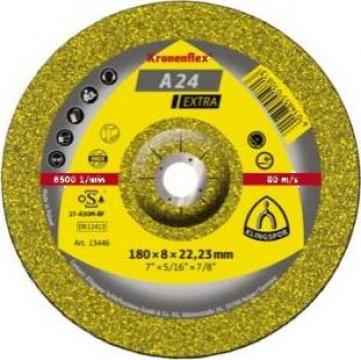 Disc polizare 125X6 A24EX Klingspor de la Furitech Srl