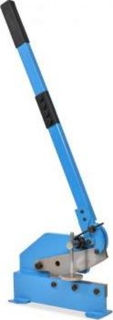 Foarfeca cu parghie pentru metal, 200 mm, albastru de la Vidaxl