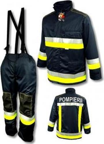 Costum protectie pompieri ergonomizat