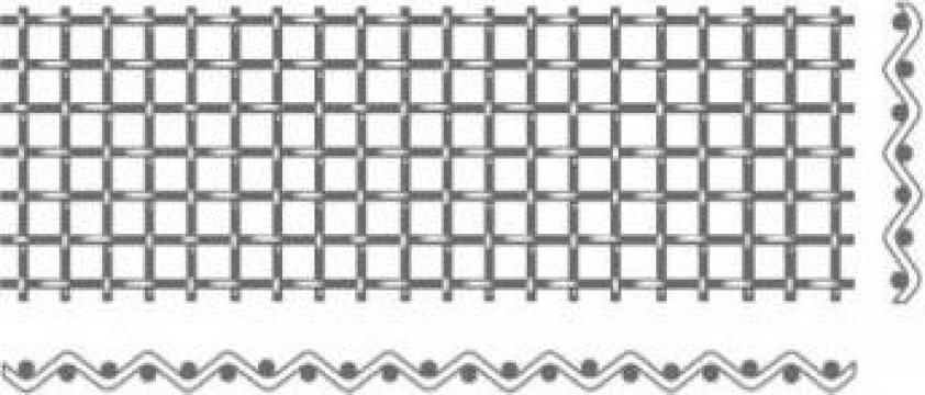 Tesatura unita/tesatura cu ochi patrat standard de la Electrofrane