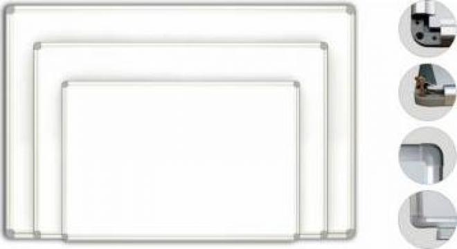 Tabla scolara magnetica alba / verde (2000x1000) de la Distinct Mob SRL