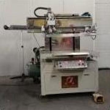 Masina semiautomata de serigrafie PRC de la Kronstadt Papier Technik Sa