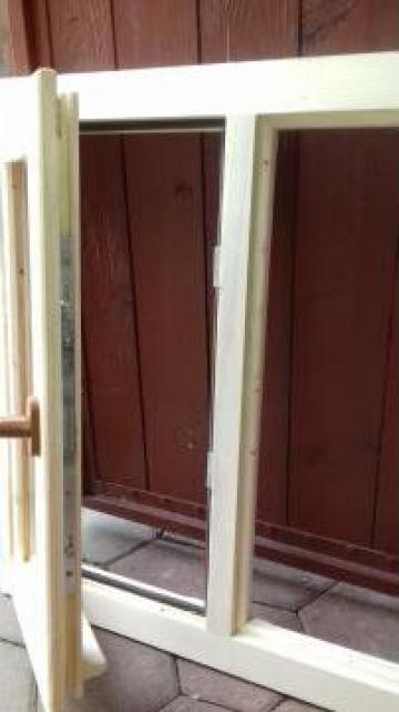 Fereastra lemn masiv cu termopan de la SC Generic Prodimpex SRL