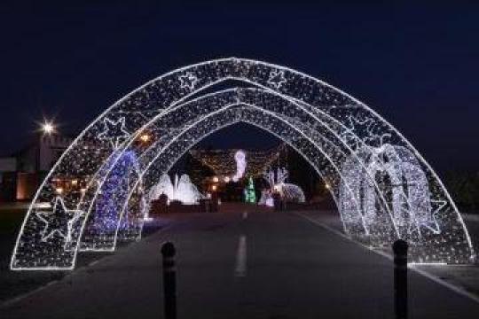 Structuri luminoase pentru iluminatul festiv de la Electrofrane