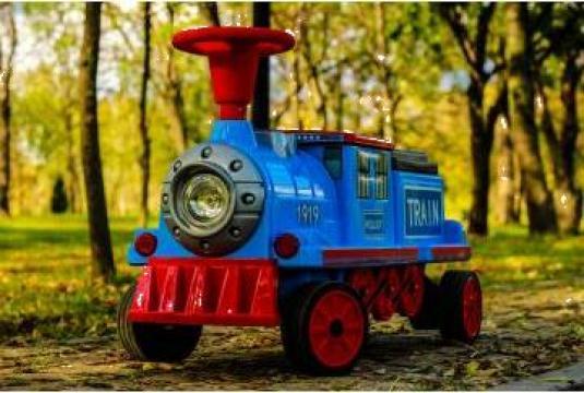 Jucarie Trenulet electric pentru 2 copii Hollicy SX1919