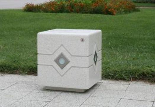 Bolard / scaun din beton LED 150