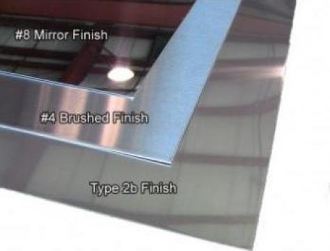 Tabla inox 3mm otel inoxidabil W1.4301 1.4016 1.4404 AISI304 de la MRG Stainless Group Srl