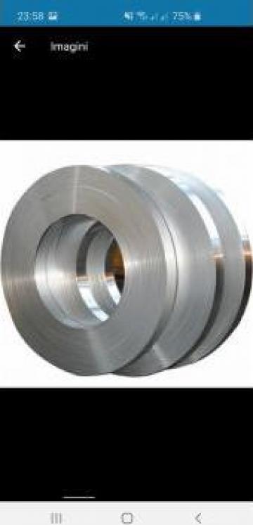 Benzi aluminiu, folii aluminiu 99.0 - 99.5% Al EN-AW 1050A de la MRG Stainless Group Srl