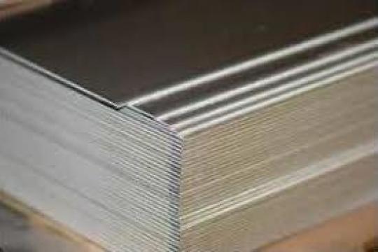 Tabla aluminiu lisa 3mm striata stucco perforata alama cupru de la MRG Stainless Group Srl