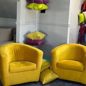 Demifotoliu fix galben Lisabona 80/70/40 de la Vindem-ieftin.ro