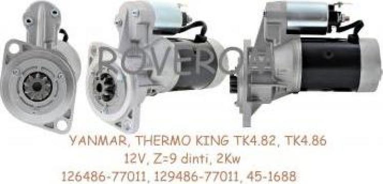 Demaror Yanmar 4TNE86, Thermo King TK482, TK486, 12V, Z=9