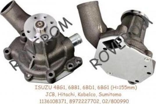 Pompa apa Isuzu 4BG1, 6BB1, 6BD1, 6BG1, JCB, Hitachi Kobelco