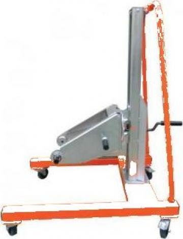 Carucior 3D pentru masina de sanfrenat UZ-15 de la Proma Machinery Srl.