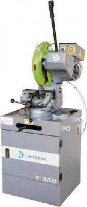 Fierastrau circular manual cu menghina automata V 350 T de la Proma Machinery Srl.
