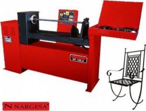 Masina de torsionat fier forjat la rece automata MT150A de la Proma Machinery Srl.
