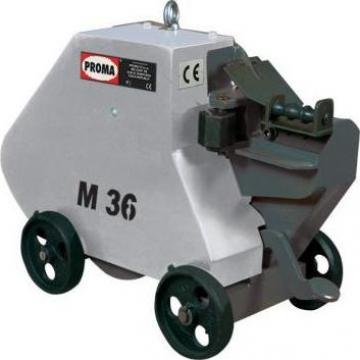 Masini debitat otel beton electro-mecanice M26 de la Proma Machinery Srl.