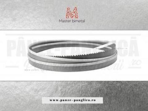 Panza fierastrau cu banda bimetal, Master 2500x20x10/14 de la Panze Panglica Srl