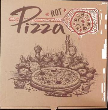 Cutie natur Hot Pizza 40x40x3,5cm 50 buc/set de la Cristian Food Industry Srl.