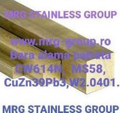 Bara alama patrata 30x30x3000mm de la MRG Stainless Group Srl