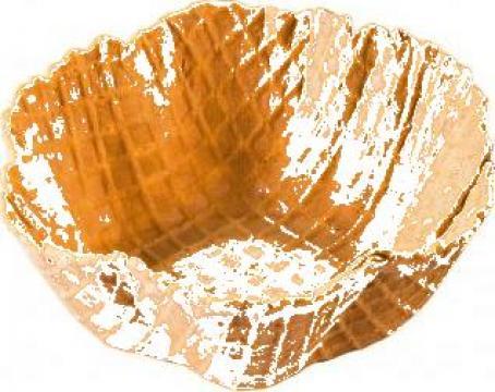 Cornet inghetata Mini Fauna (mini farfurie) 224 buc/bax de la Cristian Food Industry Srl.