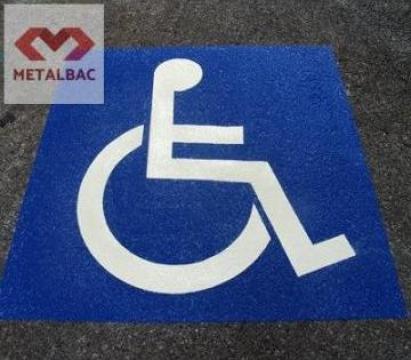 Preformat plastic Loc persoane cu dizabilitati  1000x1200mm de la Metalbac International Srl