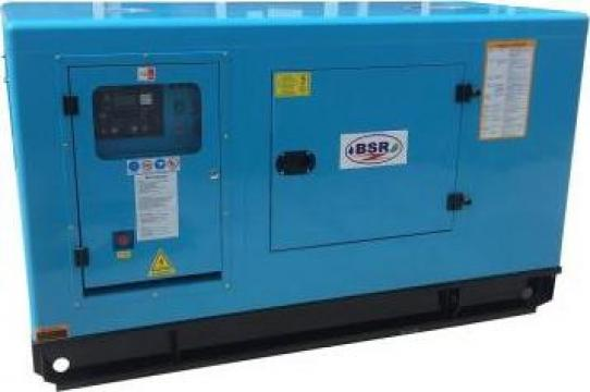 Generator monofazat insonorisat BSR motor Rikardo 10GF-LDE-A