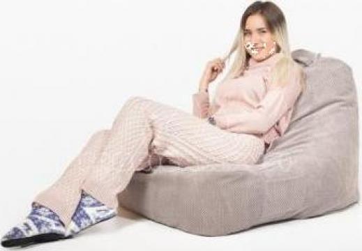 Fotoliu puf Bean Bag Vela XL de la Koko Design Textil Srl