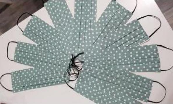 Masca de protectie bumbac 100% de la Cim Market Consulting