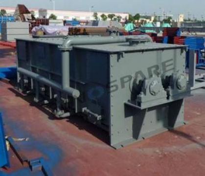 Amestecator de pulbere Paddle Poudle Mixer de la Sino Cement Spare Parts Supplier Co Ltd