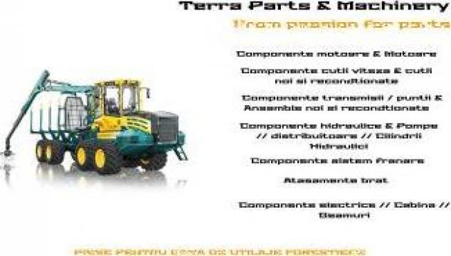Piese utilaje forestiere de la Terra Parts & Machinery Srl