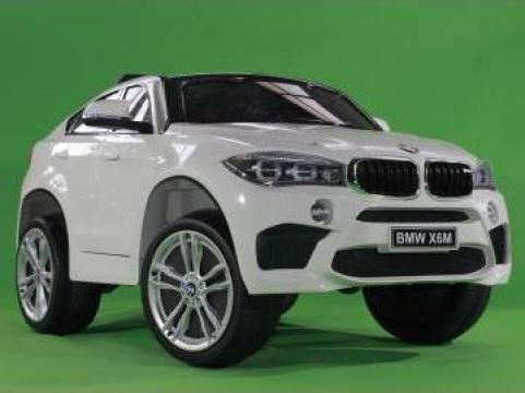 Jucarie masinuta electrica BMW X6M 2x35W standard #rosu