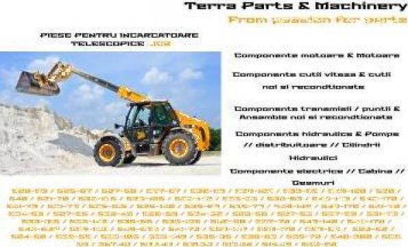 Piese telehandler JCB de la Terra Parts & Machinery Srl